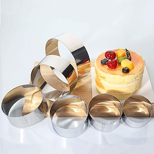 MSOO Adjustable 16-30 Stainless Steel Cake Mousse Mould Baking Square Form Ring Home