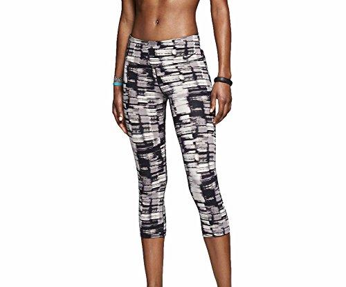 Nike Women's Dri-Fit Legendary Night Light Training Capris-Black/Gray-XL