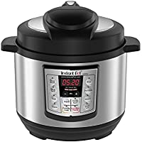 Instant Pot LUX Mini 3 Qt 6-in-1 Multi- Use Programmable Pressure Cooker, Slow Cooker, Rice Cooker, Sauté, Steamer, and Warmer