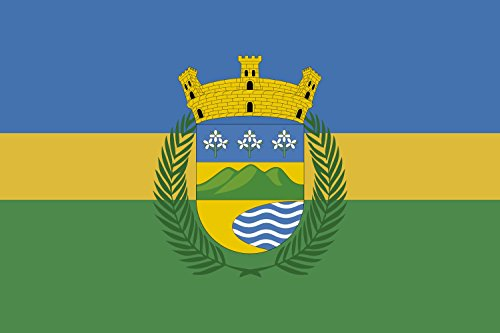 magFlags Large Flag Luquillo   Esta es la bandera del Municipio de Luquillo   landscape flag   1.35m²   14.5sqft   90x150cm   3x5ft - 100% Made in Germany - long lasting outdoor flag