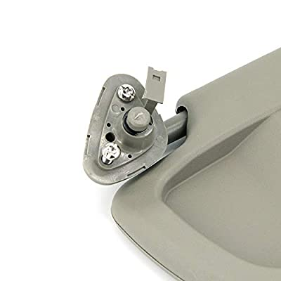 ustar Sun Visor Left Driver Side Fit for Honda Civic 2009 2010 2011 Without Vanity Light Replacement Part #83280-SNA-A01ZE (Warm Gray, 2009-2011): Automotive