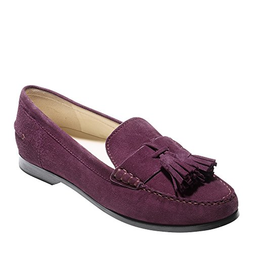 Cole Haan Donna Emmons Nappa Mocassino Fig In Pelle Scamosciata