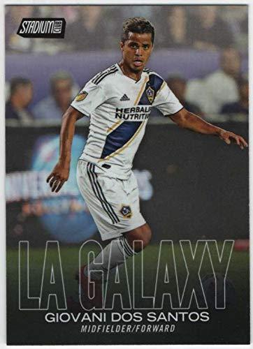 2018 Topps Stadium Club MLS Soccer Black Parallel #46 Giovani dos Santos