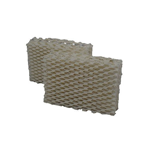 Air Filter Factory 2 PACK Compatible Replacement For Duracraft AC-813 Humidifier Filters by Air Filter Factory