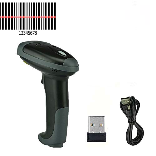2.4GHz Wireless USB Automatic WiFi Barcode Scanner Handheld Bar-Code Reader POS- Sold by Ed&Em! by Unknown