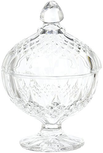 Luminarc Arc International Longchamp Diamax Footed Candy Dish, 4.5