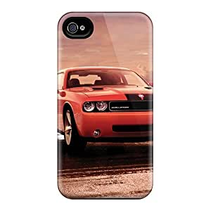 Premium 2008 Dodge Challenger Heavy-duty Protection Case For Iphone 4/4s