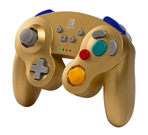 PowerA Wireless Controller for Nintendo Switch - GameCube Style: Gold