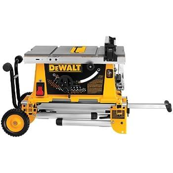 Dewalt Dw744xrs 10 Inch Job Site Table Saw With Rolling