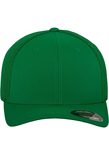 Mütze ciclismo Flexfit de para Mesh verde hombre Tactel Gorra pRvqfdw