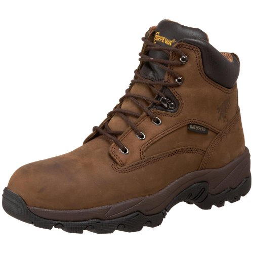 "Chippewa Men's 6"" Waterproof Comp Toe 55161 Lace Up Boot,Apache,9 M US"