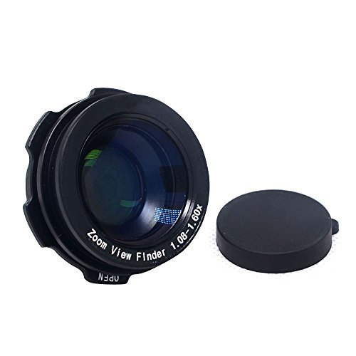 1.08x-1.60x Zoom Viewfinder Eyepiece Magnifier for Canon Nikon - 2