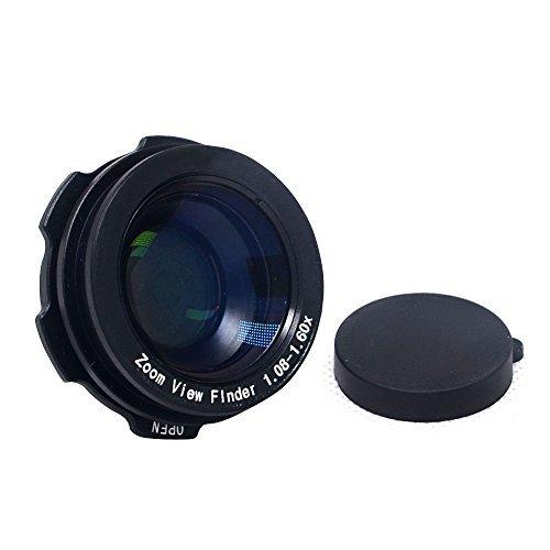 1.08X - 1.60X Zoom View Finder for Nikon Canon Sony Pentax Fujifilm - 2