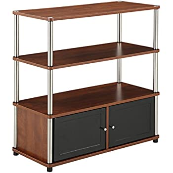 Amazon.com: Convenience Concepts Highboy Stand for Flat Panel TV's ...