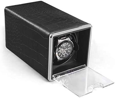 MENG-DuDu - Cargador de Reloj automático con Funda de Piel ...