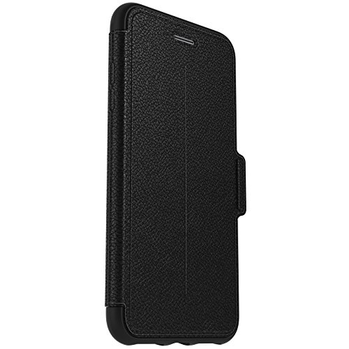 OtterBox STRADA SERIES Case for iPhone 7 Plus (ONLY) - Frustration Free Packaging - ONYX (BLACK/BLACK - Series Strada