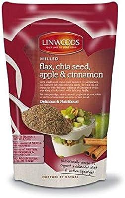 Linwoods Semillas De Lino Eco Con Chia Manzana Y Canela Mol Envase ...