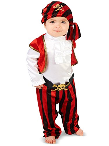 (Pirate Captain Infant Costume)