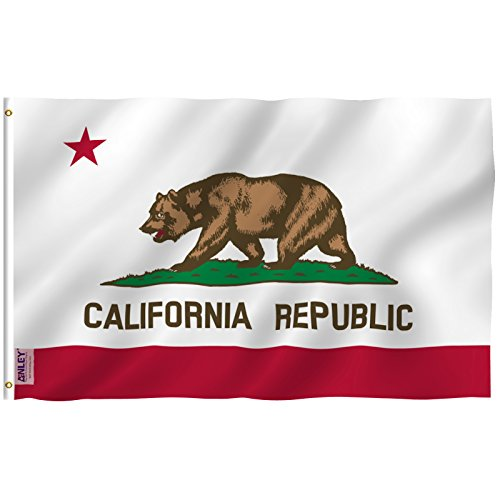 Anley Fly Breeze 3x5 Feet California State Flag - Vivid Colo