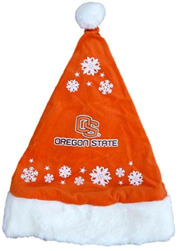 Topper Scot Oregon State University Plush Fleece Christmas Hat Beavers Hat (Plush Hat State)
