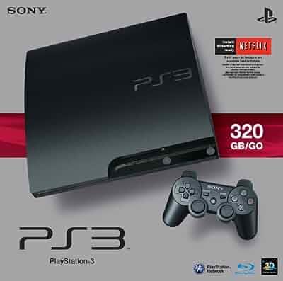 Amazon com: Sony PlayStation 3 Slim 320 GB Charcoal Black