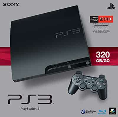 Amazon.com: Sony PlayStation 3 Slim 320 GB Charcoal Black ...
