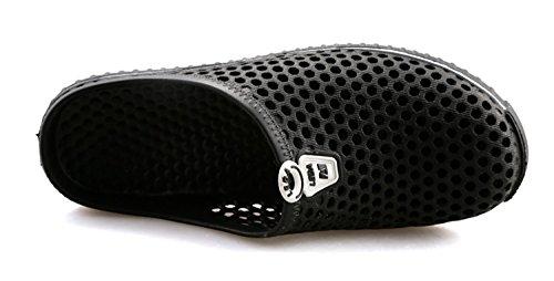 Coo & Mo Unisex Strand Sandal Hage Tette Sko Svart
