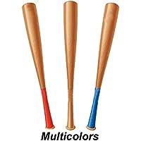 RV Base Bat Poplar Willow Baseball Bat, Maple Wood Bat (Multicolor,Pack of 1)