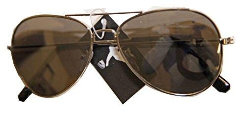 Verre Soleil de Femme 400 Aviateur Mode Mixte Protection Homme Fumé UV Lunette Argent ZzfqRpp
