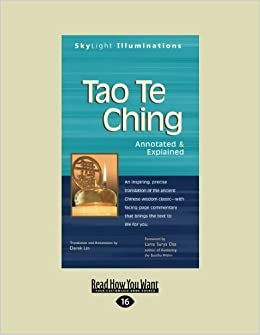 Book By Derek Lin Tao Te Ching: Annotated & Explained ([Large Print])