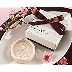cute rabbit 36pcs Cherry Blossoms Scented Soap Wedding & Baby Shower Favors