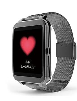i95 androide 4.3 reloj inteligente con función de ip65 bluetooth 4.0 llamadas meteorológicas , gold: Amazon.es: Electrónica