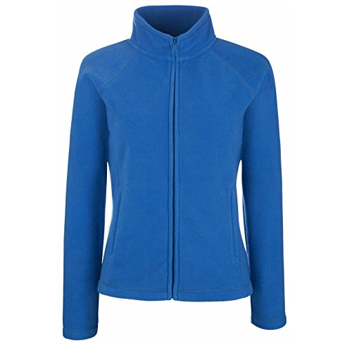 Blue con Loom in the Royal Felpa Fruit New Zip of pile donna da Otnx7zgqfw