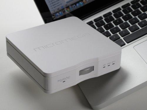 Micromega MyDAC Asynchronous USB Digital-to-Analog Converter (White) by MICROMEGA