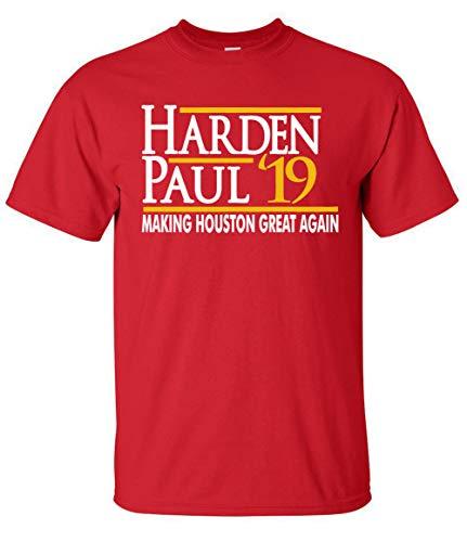 T-shirt Adult James - RED Houston Harden 19