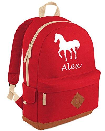 Edward Sinclair - Bolso mochila  para mujer Rojo - rojo