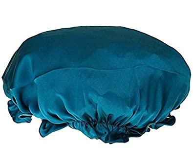 NaiseCore Femme Bonnet de Nuit Charlotte en 100% Soie Chapeau de Sommeil  Bonnet Nuit Cheveux c7f779b2f90