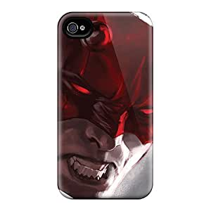 Iphone 4/4s VFp17108vEoW Customized Vivid Daredevil I4 Pattern Protector Cell-phone Hard Cover -JonBradica