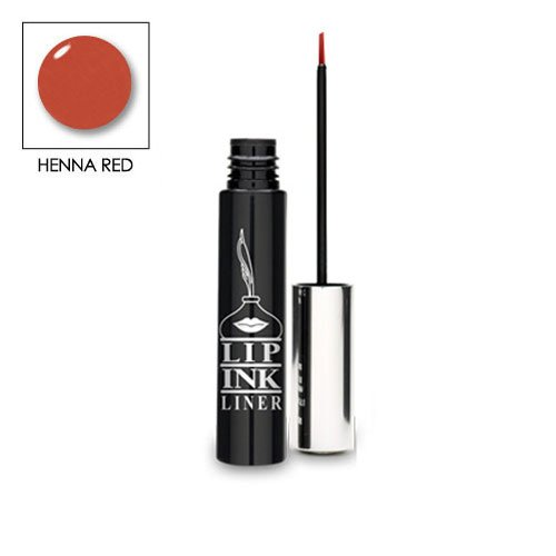 LIP INK Organic Vegan Smearproof Waterproof Lip Liner - Henna Red