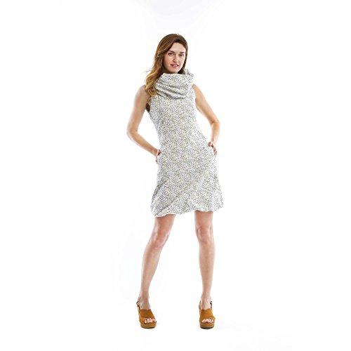 Zergatik Vestido Mujer MIXIXI_SS17 Jelly white