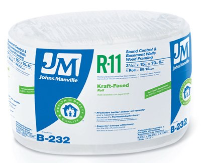 JOHNS MANVILLE INTL 90003717 Series R11 15x70'6'' Kraft Roll by JOHNS MANVILLE INTL
