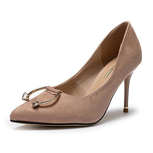 B Spitze 22 8 Heels Shoes 3CM Toe Heels 8Inch und Fußlänge Ladies PUMPS q01ITT