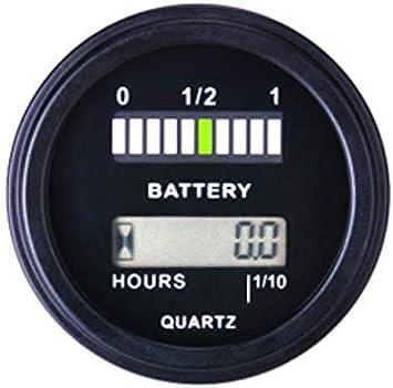 Jayron Lcd Batterieanzeige Und Stundenmesser Für Elektronik
