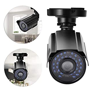 wosume 【𝐁𝐥𝐚𝐜𝐤 𝐅𝐫𝐢𝐝𝐚𝒚 𝐃𝐞𝐚𝐥𝐬】 Wireless Outdoor WiFi Security Camera, AHD 2000TVL 1080P HD Waterproof IP66 30 Infrared Light Night Vision Camera Security Cam for Home,Office,School(PAL)