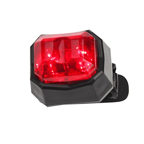 HCDjgh Bicycle Tail Light Planet Bike,Cycling Bike Led Back Rear Lamp Safety Flashing Warning Red Outdoor Riding ღLights Reflectors ()