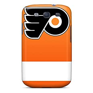 Philadelphia Flyers Orange And White Cases Compatible With Galaxy S3/ Hot Protection Cases