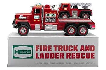 2015 51st Hess Collectible Toy Fire Truck & Ladder Rescue 0