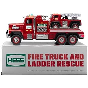 2015 51st Hess Collectible Toy Fire Truck & Ladder Rescue