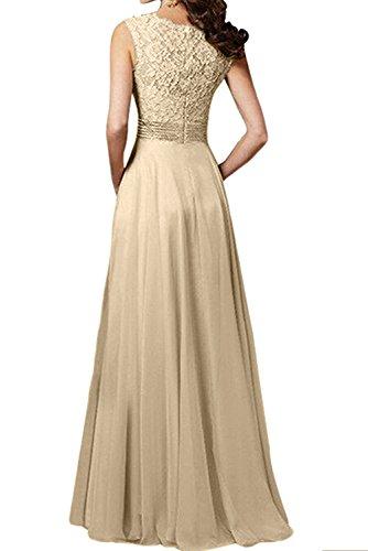 Ivydressing - Vestido - trapecio - para mujer dorado