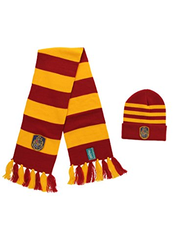 elope HARRY POTTER™ HOGWARTS™ Knit Hat and Scarf Set -